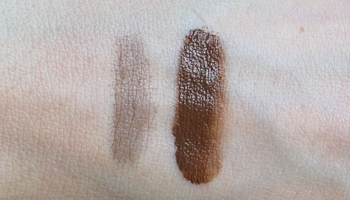 clio brow swatch