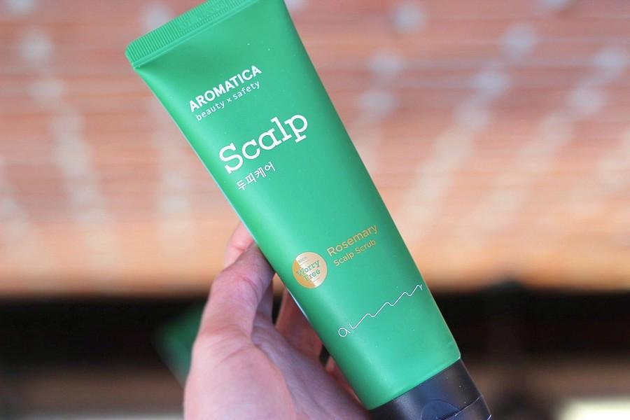 Review Aromatica Rosemary Scalp Scrub Oh My Brush